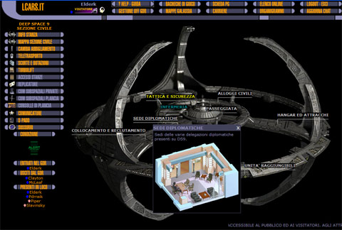 Videata di Star Trek Lcars