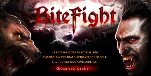 BiteFight: gdr gratis di vampiri e lupi mannari.