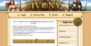 Evony, browser game si strategia