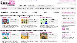 GamesTube, giochi online gratis.