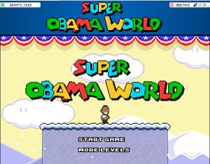 Il gioco Super Obama Wirld