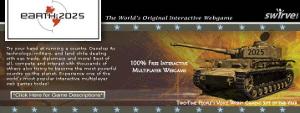 Earth 2025, strategia militare.