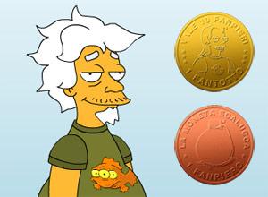 Nonno Teo e le sue monete.