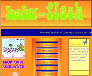 Esercizi e giochi per bambini su Baby Flash.