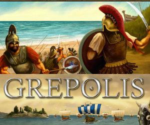 Grepolis, gioco di ruolo di strategia ambientato nell'antica Grecia.
