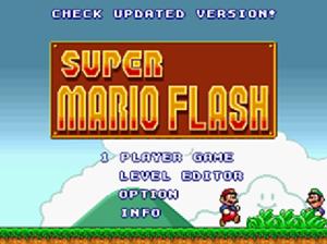 Gioca gratis a Super Mario Bros, in Flash.