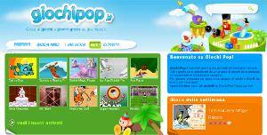 Giochi pop è una sala giochi online tutta italiana.