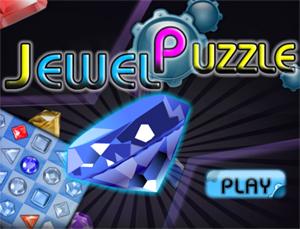 Puzzle game coloratissimo, è il gioco Jewel Puzzle, su Facebook!