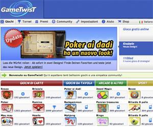 Giochi e tornei online di carte, gratis su Game Twist.
