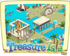 Gioca a Treasure Isle, e scopri i tesori nascosti nell'isola di facebook.