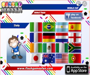 Puzzle Soccer, la versione calcistica di Puzzle Bubble.