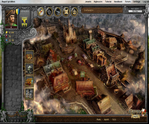 Europe 1400, gioco online medievale via browser.