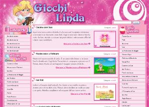 Giochi in rosa per bambine: Giochi Linda.