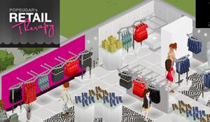 Gioca con il tuo negozio ideale in Retail Therapy.