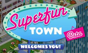 Superfun Town, la tua città virtuale su Facebook!