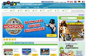 Giochi gratis online su Pogo.com