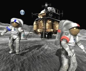 Moonbase Alpha, gioco online nasa.