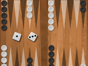 Backgammon multiplayer.