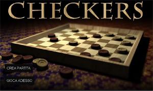 Checkers: la dama americana online