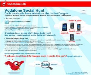 Vodafone Social Hunt