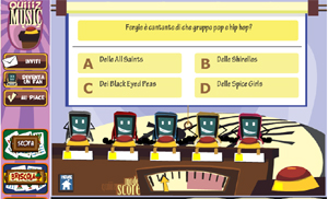 Quiz game online sulla musica.