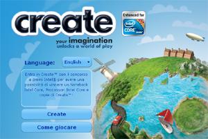 Create su Facebook.