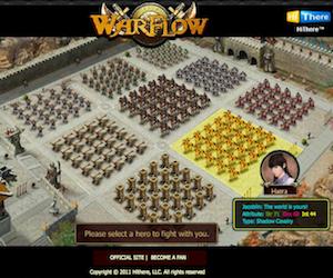 War Flow, gioco RTS su Facebook.