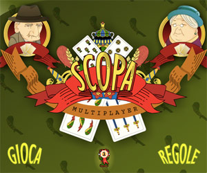 Scopa on line multiplayer