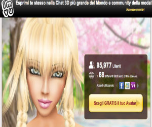 IMVU social game in 3D