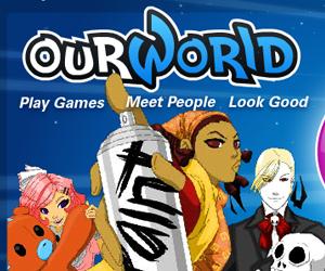 Our World, un mondo virtuale di giochi gratis online