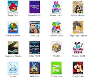 Google+ giochi