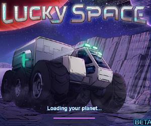 Lucky Space, costruisci per gioco la tua città spaziale, su Facebook