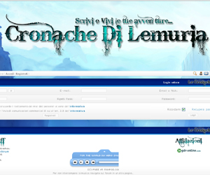 Le Cronache di Lemuria, gioco di ruolo play by Forum.