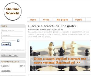Onlinescacchi.com, il sito dedicato al gioco degli scacchi!