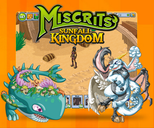 Miscrits of Sunfall Kingdom.