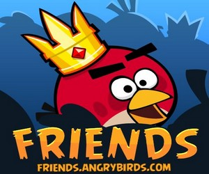 Angry Birds Friends.