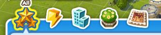 Inventario di Sim City Social