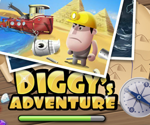 Diggy's Adventure.