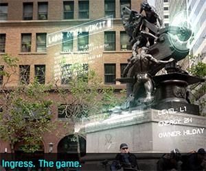 Ingress. The game