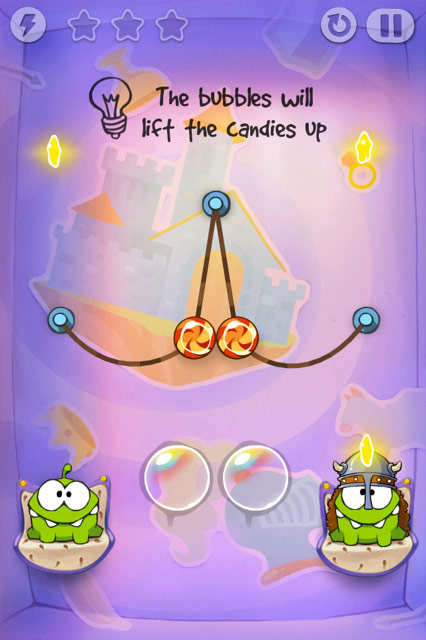 Cut the Rope: Bolle.