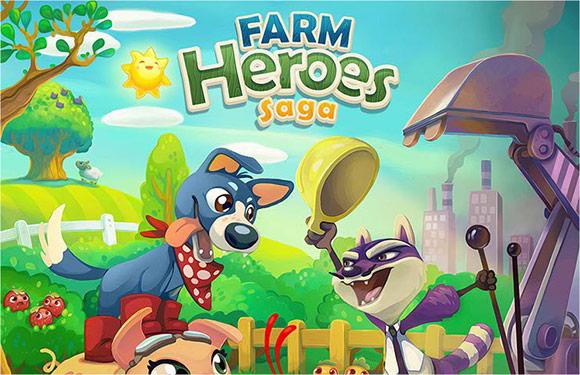 Farm Heroes Saga: immagine della guida.