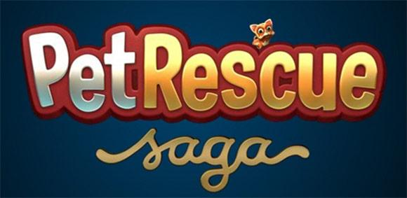 Logo Pet Rescue Saga.