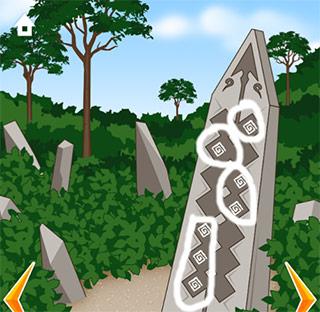 Ruins Escape: Soluzione enigma della pietra.