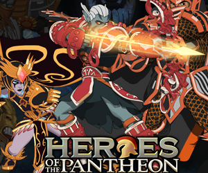 Heroes Of The Pantheon.