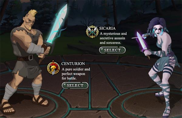 il Gladiatore e la Sicaria.