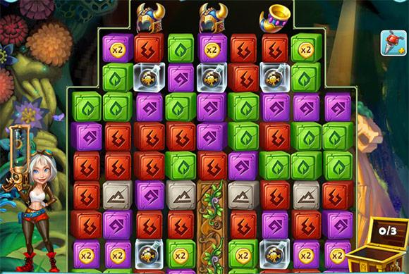 Treasure Epic: Schermata di gioco.