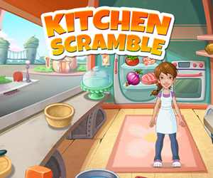 Kitchen Scramble.