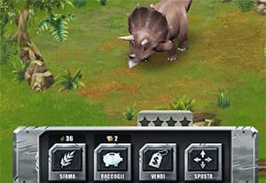 jurassic builder: triceratopo