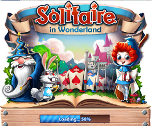 Solitaire in Wonderland.