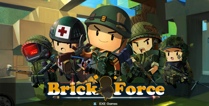 Brick Force shooter.